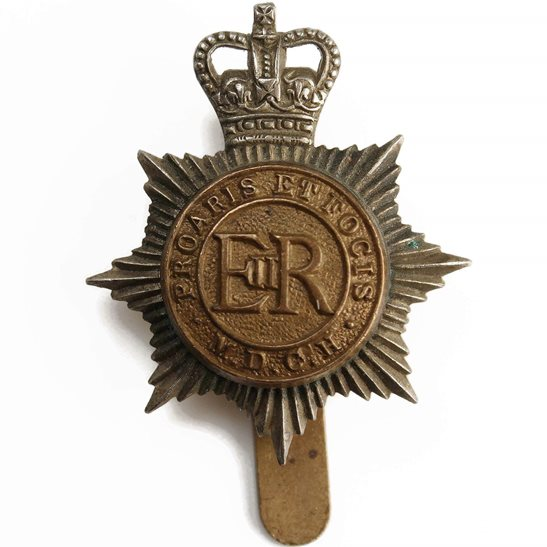 Middlesex Imperial Yeomanry Queens Crown Middlesex Yeomanry Regiment Cap Badge