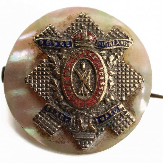 Black Watch WW1 Black Watch Royal Highland Regiment Scottish Sweetheart Brooch