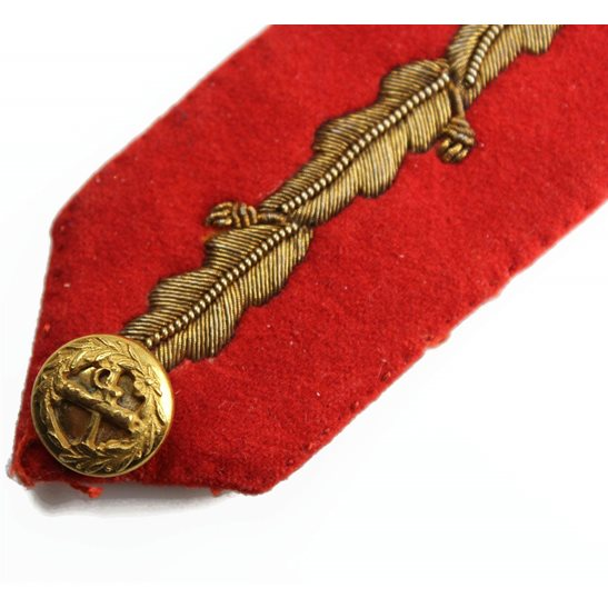 additional image for British Generals Rank Insignia Red Tab Collar Gorget