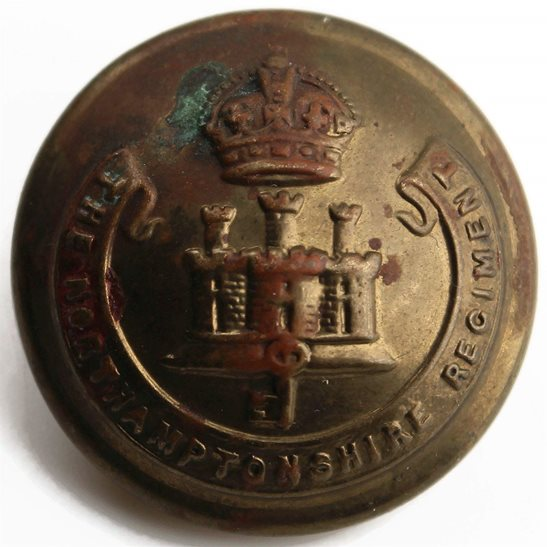 Northamptonshire Regiment Northamptonshire Regiment Northampton Tunic Button - 26mm