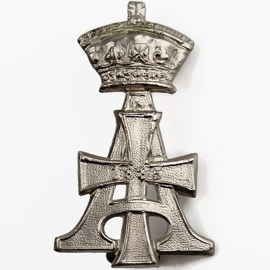 19th Hussars 19th Hussars (Alexandra, Princess of Wales's Own) Regiment Collar Badge