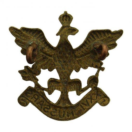 additional image for WW2 RAISED 26th Hussars Regiment Cap Badge