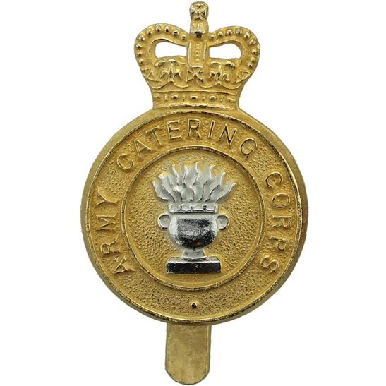 Army Catering Corps ACC Army Catering Corps ACC Staybrite Anodised Cap Badge - Staybright