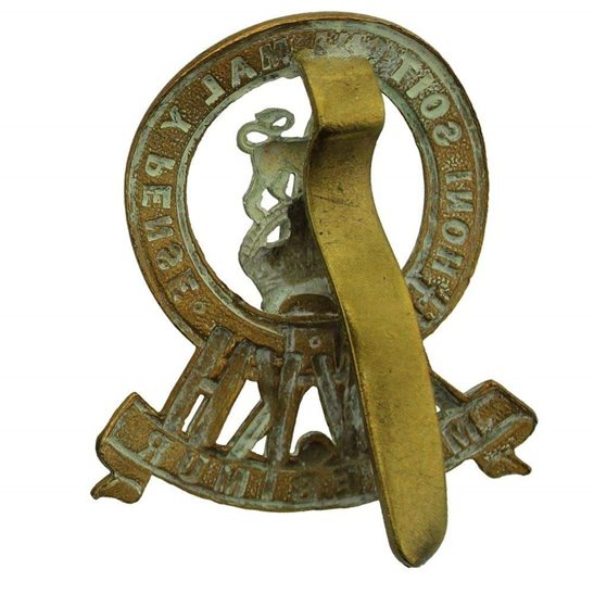 additional image for WW1 15th The Kings Hussars Regiment King's Cap Badge