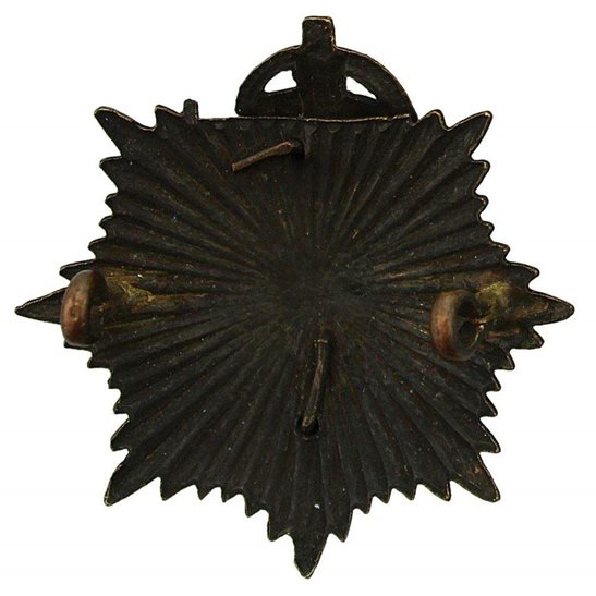 additional image for WW1 Army Service Corps ASC OFFICERS Bronze Cap Badge