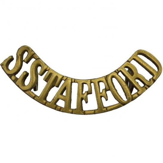 South Staffordshire South Staffordshire (Stafford) Regiment Shoulder Title
