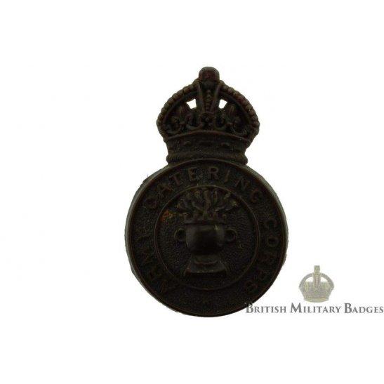 Army Catering Corps ACC PLASTIC Bakelite Cap Badge