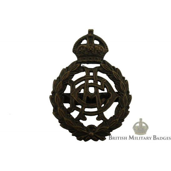 Army Dental Corps ADC OFFICERS Bronze Cap Badge