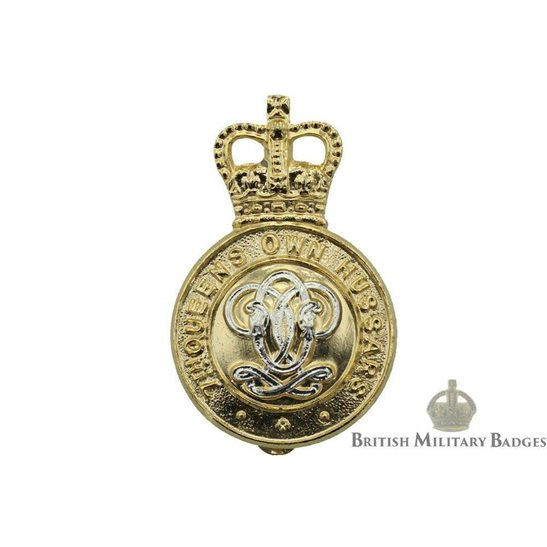 7th Queens Own Hussars Regiment (Queen's) Staybrite Cap Badge