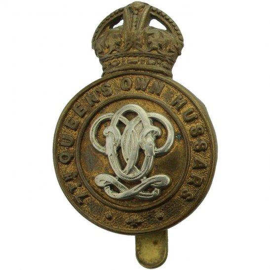 7th Hussars 7th Queens Own Hussars Regiment (Queen's) Cap Badge