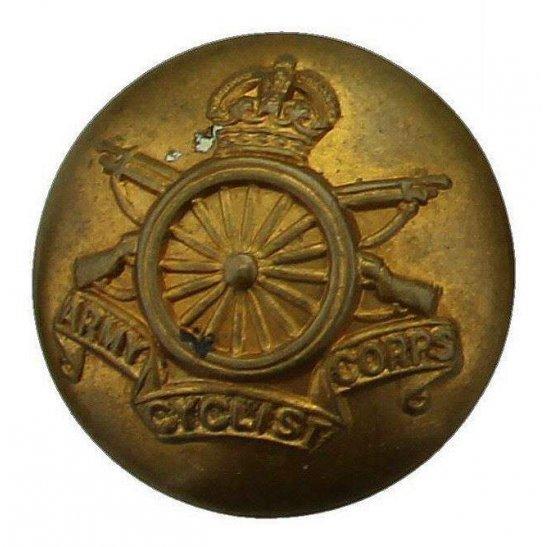 Army Cyclist Corps WW1 Army Cyclist Corps Cyclists Regiment Tunic Button - 19mm