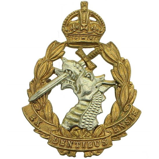 Army Dental Corps WW2 Royal Army Dental Corps RADC Dentist Cap Badge