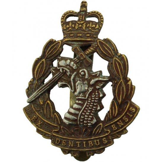 Army Dental Corps Royal Army Dental Corps RADC Dentist Cap Badge - Queens Crown