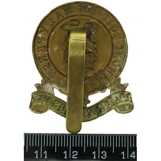 additional image for WW1 14th Kings Hussars (King's) Regiment Cap Badge