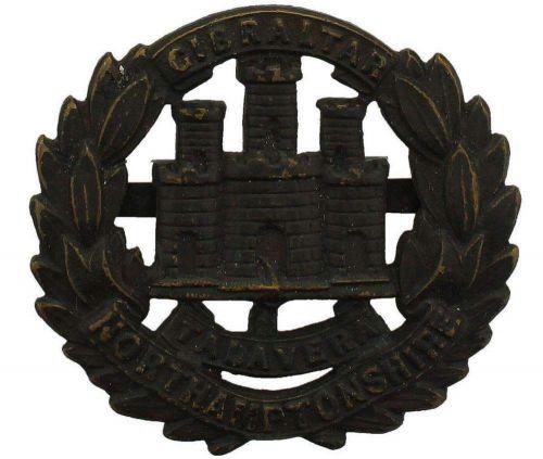Details about Original WW1 Northamptonshire Regiment OFFICERS Bronze Cap  Badge - NA46