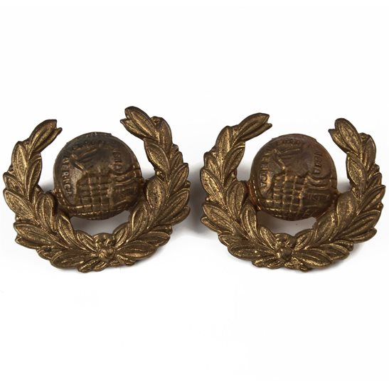 Royal Marines Royal Marines Corps Collar Badge PAIR