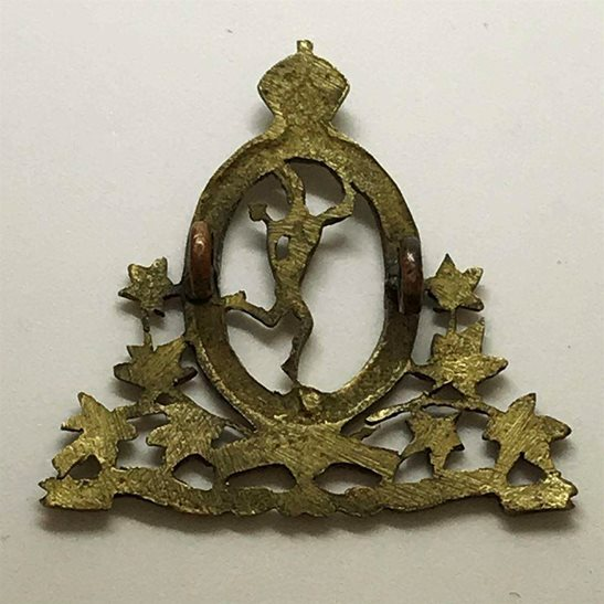 additional image for WW2 Royal Canadian Corps of Signals RCCOS Canada CEF Cap Badge