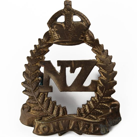 WW1 New Zealand Army New Zealand Army Infantry Forces Division / Corps Cap Badge