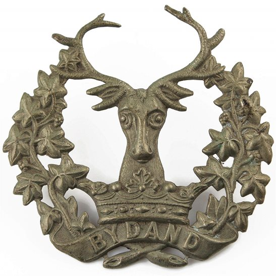 Gordon Highlanders WW1 Gordon Highlanders Regiment Cap Badge