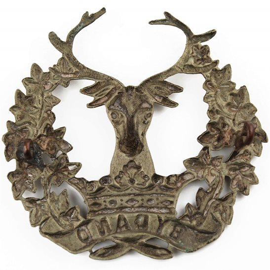 additional image for WW1 Gordon Highlanders Regiment Cap Badge