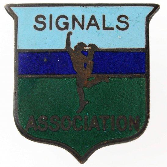 Royal Corps of Signals RCOS Royal Corps of Signals RCOS Old Comrades Association OCA Lapel Badge