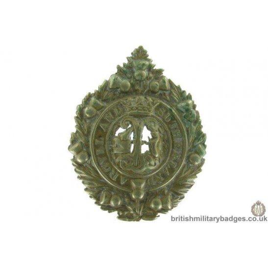 Argyll and Sutherland Highlanders Regiment Cap Badge
