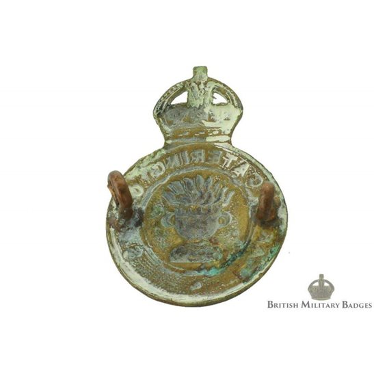 additional image for Army Catering Corps ACC Cap Badge - LUGGED VERSION