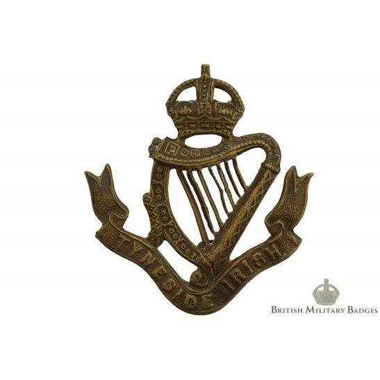 24th / 25th / 26th / 27th Tyneside Irish Battalions Shoulder Title