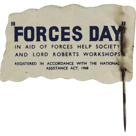 additional image for Lord Roberts Fund British Flag Armed Forces Day Wounded Veterans Fundraising Pin Badge