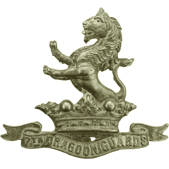 7th Dragoon Guards 7th Dragoon Guards Regiment Cap Badge