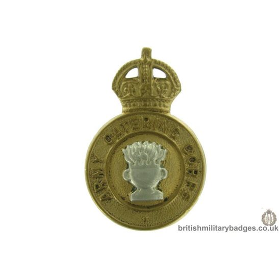 Army Catering Corps ACC Collar Badge