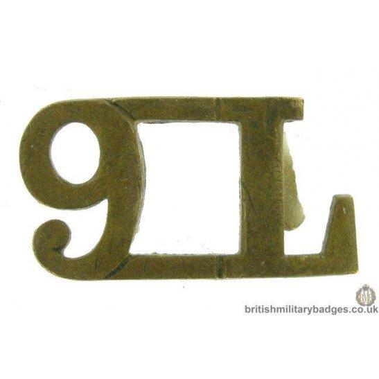 9th Queen's Royal Lancers Regiment Shoulder Title