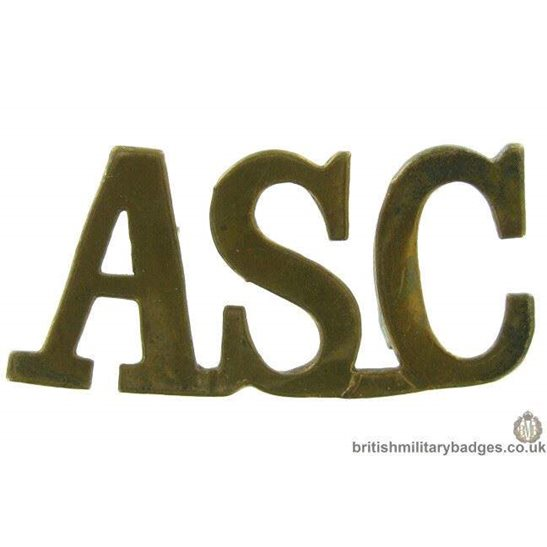 Army Service Corps ASC Shoulder Title