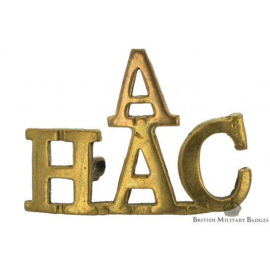 """A"" Battery Honourable Artillery Company A/HAC Shoulder Title"