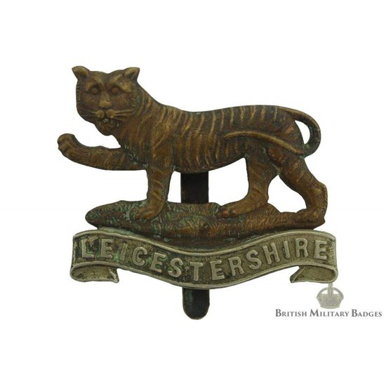 4th 5th & 6th Territorial Battalions, Leicestershire Regiment Cap Badge