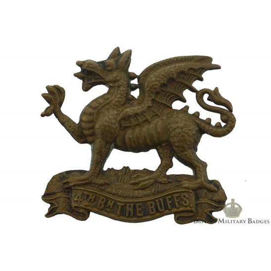 additional image for 4th Battalion, Royal East Kent (The Buffs) Regiment Cap Badge