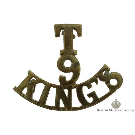 6th Territorial Battalion, King's Liverpool Regiment (Kings) Shoulder Title