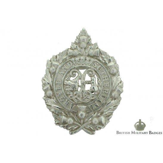Argyll and Sutherland Highlanders Regiment Staybrite Cap Badge