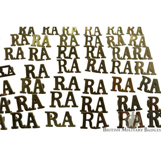 additional image for Royal Artillery Regiment RA Shoulder Title - CHOOSE YOUR QUANITY