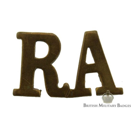Royal Artillery Regiment RA Shoulder Title - CHOOSE YOUR QUANITY