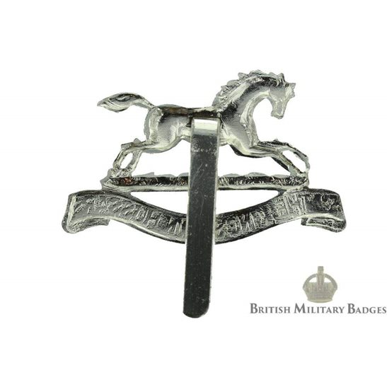 additional image for 3rd The Kings Own Hussars Regiment (King's) Staybrite Cap Badge