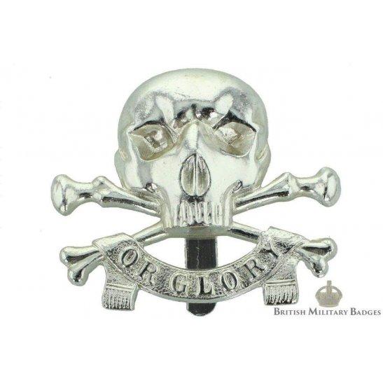 17th / 21st Lancers Regiment Staybrite Cap Badge