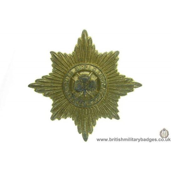 F1A/90 - Irish Guards Regiment Staybrite Cap Badge