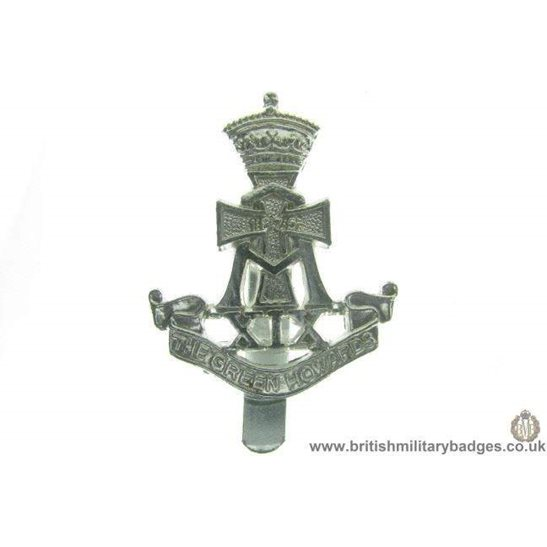 F1A/92 - The Green Howards Regiment Staybrite Cap Badge