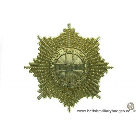 F1B/27 - Coldstream Guards Regiment Staybrite Cap Badge
