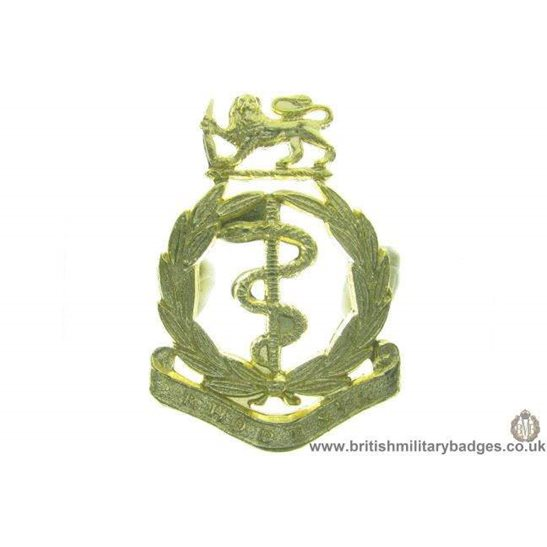 F1B/91 - Rhodesian Army Medical Corps Staybrite Cap Badge