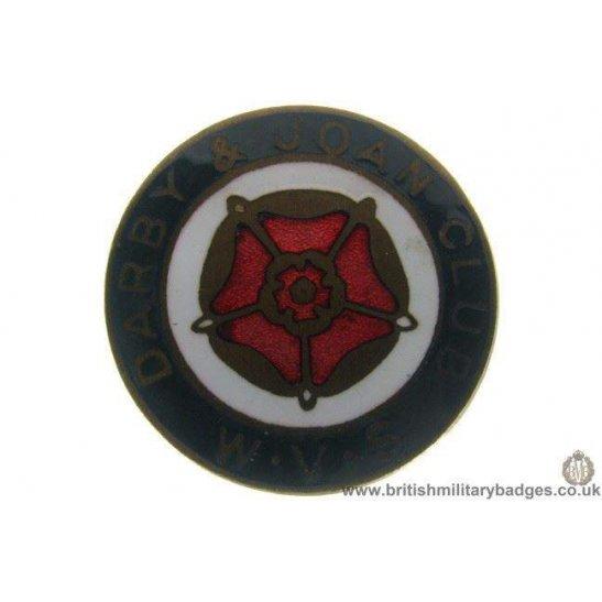 J1A/53: Womens Voluntary Service WVS Darby Joan Club Lapel Badge