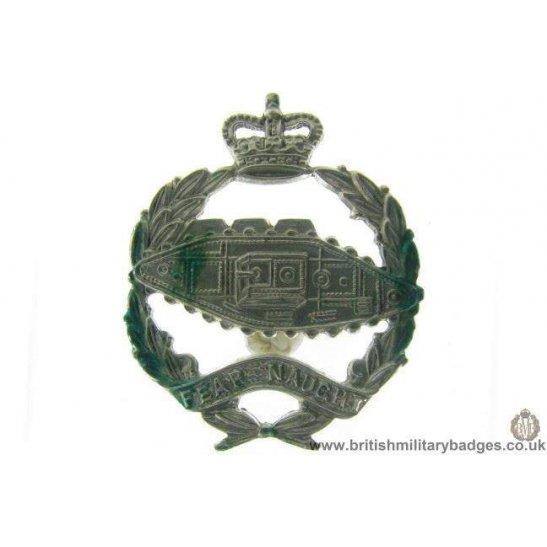B1A/11 - Royal Tank Regiment Corps QC Collar Badge