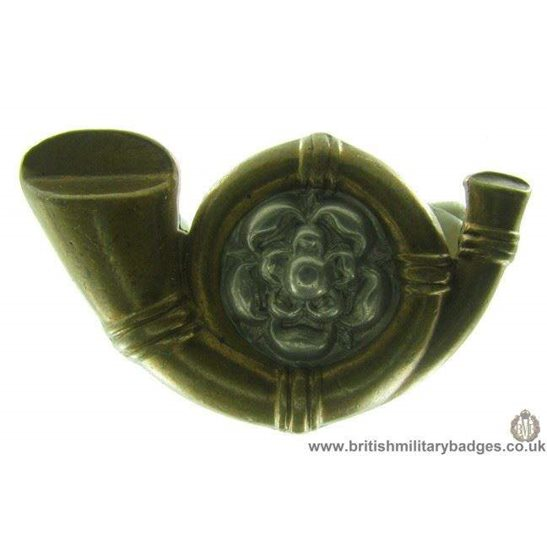 B1A/35 - Kings Own Yorkshire Light Infantry KOYLI Collar Badge