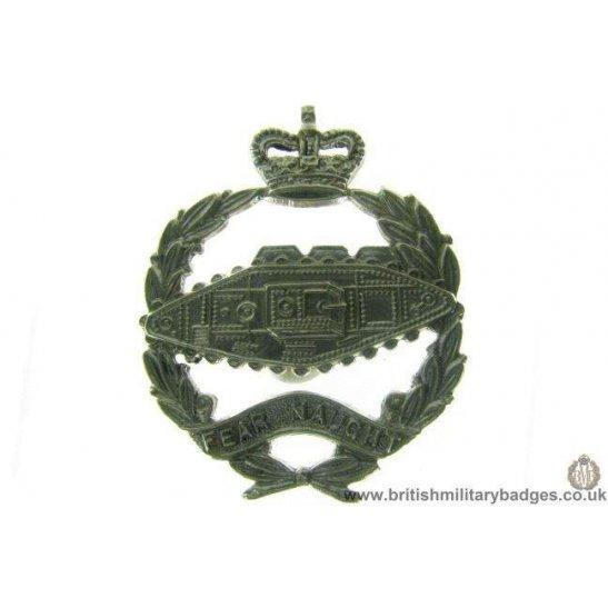 B1A/67 - Royal Tank Regiment Corps QC Collar Badge